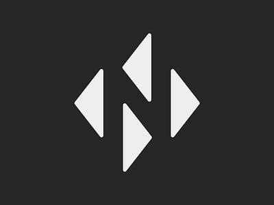 Nick Noble Works Logo  monogram brand identity logo