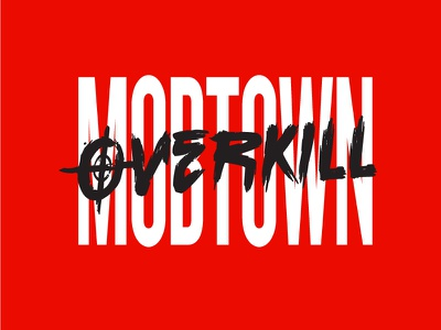 Mobtown Overkill Logo record label logo
