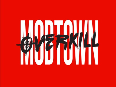 Mobtown Overkill Logo record label logo