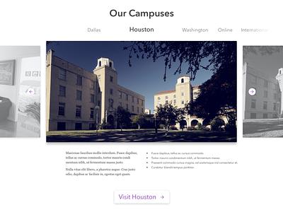 Campuses Slider slider carousel ui