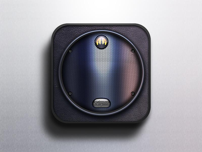 New Speaker Icon icon ios speaker tech circle music sound