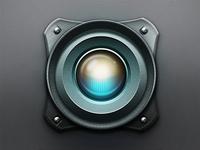 Eye Scanner Lens