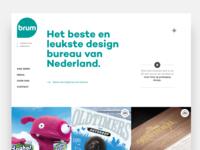 Brum website marquee