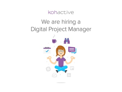 We're Hiring! design web agency jobs hiring manager project chicago kohactive