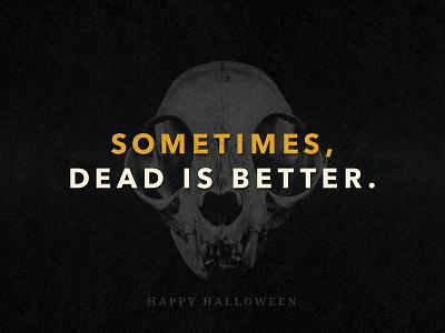 Happy Halloween! typography king stephen october spooky skull halloween