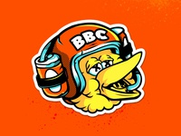 Big Bird Crew Stickers