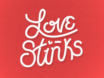 Happy Valentines Day day valentines vector hearts lettering typography stinks love sandler adam