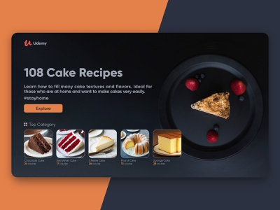 Udemy - Landing Page ui trend minimal teaching online learning elearning udemy userinterface webdesign learning landingpage landing uidesign uiux ui product interface design