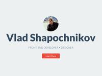 Personal Site Re-Design