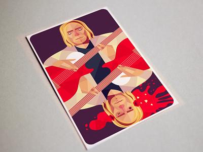 Forever 27 brian jones jimi hendrix amy winehouse kurt cobain illustration