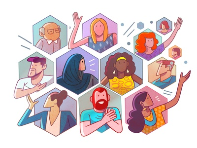 Diversity and Inclusion illustration diversity diversity and inclusion