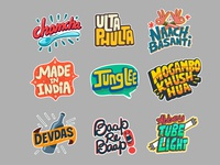 Snapchat Typo Stickers