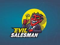 Evil Salesman- Mascot design