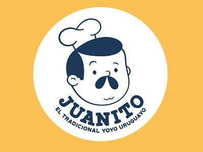rebranding Juanito character design vector food logo design branding illustration