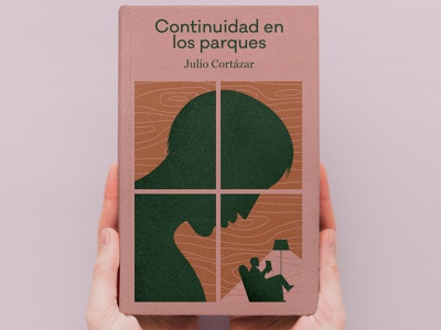 The Continuity of Parks by Julio Cortazar cortazar windows design literature books book cover illustration