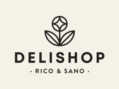 Delishop Branding - primary logo