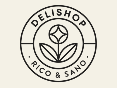 Delishop Branding - Secondary Logo