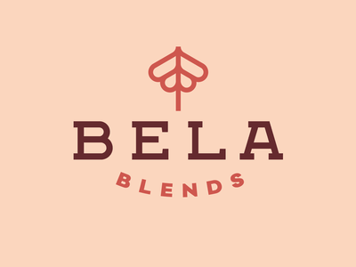 Bela Blends Tea Brand shop house coffee blend farming cultive flower grow artisan handcraft brand branding tea