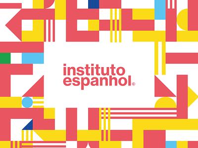 Instituto Espanhol brazil espanhol español instituto visual identity system logotype logo brand design brand identity branding brand