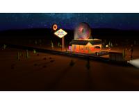 Donut Road - Night