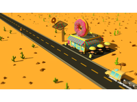 Donut Road - Night