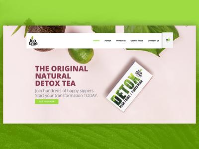 Teatime Premium Detox  Banner