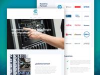 DT15V6 Website Redesign