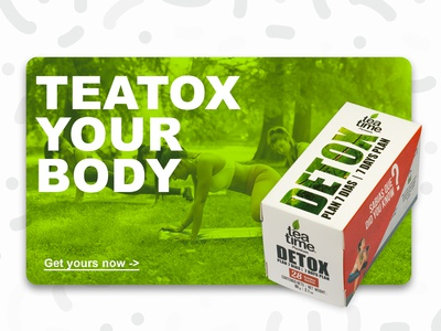 DETOX PLAN - Packaging design