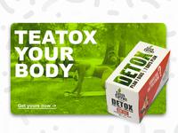 DETOX PLAN - Packaging design