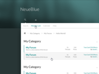 NeueBlue Preview