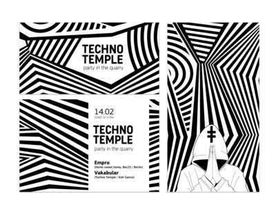 TECHNO TEMPLE / Identity / 2014
