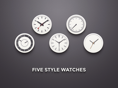 5 Style Watches