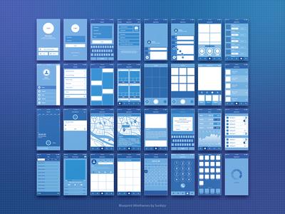 Blueprint Wireframe