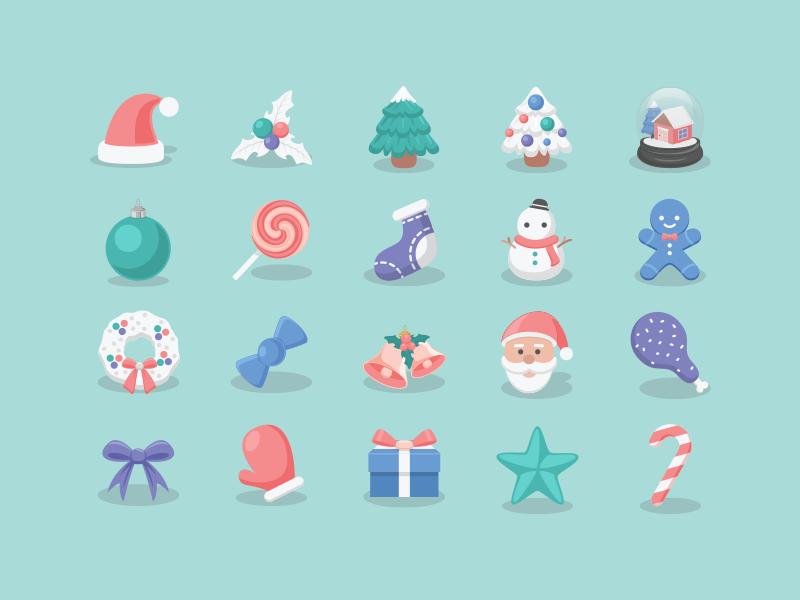 Christmas icons 2015