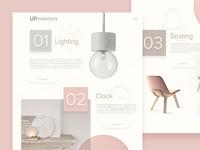 Upinteriors Webdesign