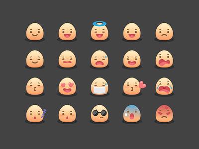 Mojicon - Free Smiley Icons icon icons aifile free freebie emoticon emotion feeling face mojicon