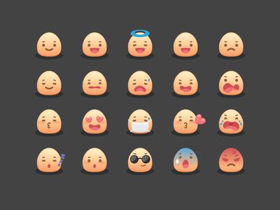 Mojicon - Free Smiley Icons