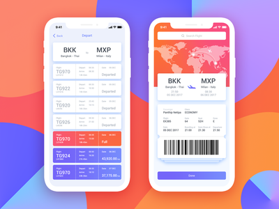 Book Flight ui ux ios fly ticket flight flight ticket book flight booking iphonex airplane airport