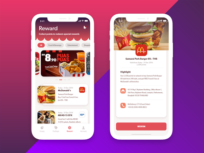 Reward on XD Files uxdesign uxui userinterface uidesign adobe photoshop adobe mobile design mobile ui webdesign xd design adobexduikit adobe xd mobile app iphone x ios12 uikit xd adobexd