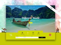 Travelon - Tour & Travel Agency PSD Template