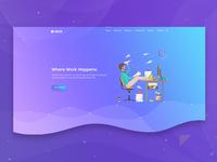 Slack App Landing Page
