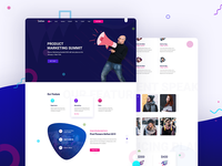 Fizcon - Event, Meeting, Conference PSD Template