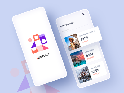 Travel App UI colorful tour travel agency web design template flat icon typography creative illustration app ui ux