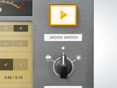 Player UI player ui switch interface