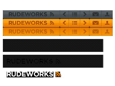 Sprites for RUDEWORKS sprites rudeworks buttons