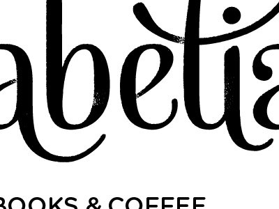 Babelia Logo (black & white) monochrome logotype logo babelia mishka typography gotham black and white