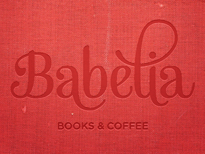 Babelia Logo (book cover) babelia logotype cover book texture gotham mishka
