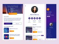 Online Learning App design