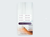 Hotel Room Booking App