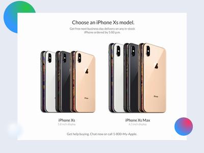 Iphone Xs Ordering